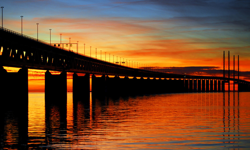 Malmo Sweden  city photo : oresund bridge malmo sweden